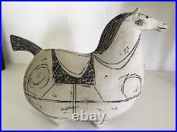 Stig Lindberg for Gustavsberg Ceramic Horse, (Large size, Springare series')