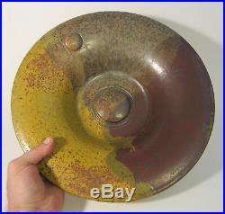 THEODORE TED RANDALL Signed Mid Century Studio Art Pottery Modernist Bowl Vessel