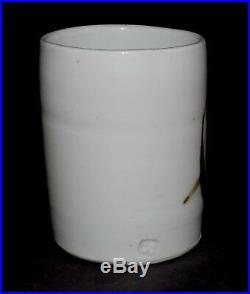 Taeko Tanaka Mingei Studio Art Pottery Yunomi Tea Cup Apple Warren MacKenzie