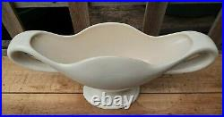 The Pottery Fulham Large Cream Mantle Vase Constance Spry 43cm VGC Charity Sale
