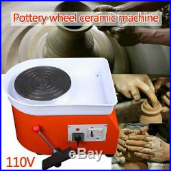 USA High Quality Turntable Electric Pottery Wheel Ceramic Machine Art Clay Craft