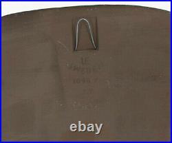 Upsala Ekeby Irma Yourstone bird wall plaque 1960's 1970's Swedish pottery