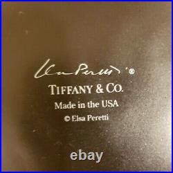 VINTAGE Tiffany & Co ELSA PERETTI POTTERY CERAMIC THUMB PRINT Bowl 7 3/8 RARE