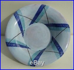 Vally wieselthier wiener werkstatte ceramic bowl signed art deco austria