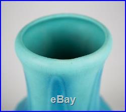 Van Briggle Art Pottery #797 Turquoise Blue Large Vase 9 Signed c. 1930's