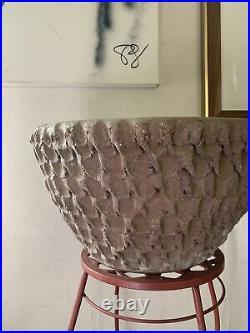 Very Early Stan Bitters Thumb Pot Ceramic Planter Hans Sumpf Stunning Texture