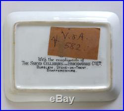 Very rare Royal Doulton Art Deco pin tray with bather (V&A exhibition)