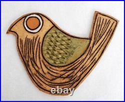 Vintage Ceramic Bird Tile Mosaic Plaque Wall Art Brent Bennett Raul Coronel