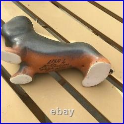 Vintage Dachshunds Dog Ceramic by Lisa Larson for K-Studion & Gustavsberg