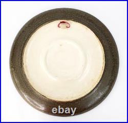 Vintage Eduardo Vega Ceramic Art Pottery Huge 15 Wall Plate MID Century