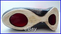 Vintage Ellis Australian Pottery MID Century Lady Statue Ceramic Studio Art