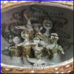Vintage HAL FROMHOLD Mid Century Modern Art Pottery Ceramic Sculpture