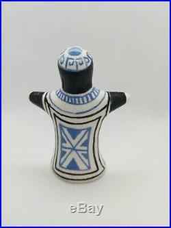 Vintage Handmade Ceramic Bernard Moss Mevagissey Studio Art Pottery The Rabbi