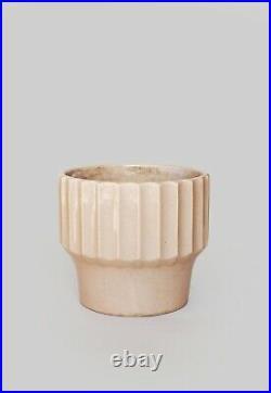 Vintage Mid Century Modern Bauer Biltmore large #10 Speckled ceramic planter pot