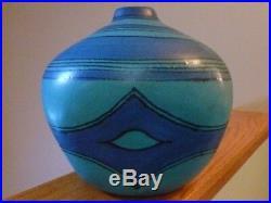 Vintage Mid-Century Modern Glidden Fong Chow Gulfstream Art Pottery Vase