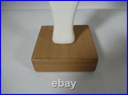 Vintage Mid Century Modernist Female Ceramic Art Pottery Abstract Nude Sculpture