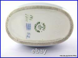 Vintage Royal Copenhagen 6.7 Ceramic Butterflies Vase Pottery Art Scandinavia