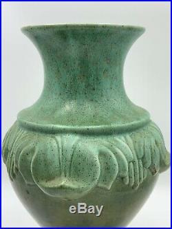 Vintage Royal Haeger Vase Flower Art Deco Pottery Large
