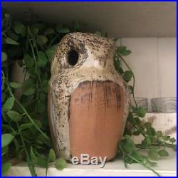 Vtg Edna Arnow Studio Pottery Owl Handcrafted Rare MID Century Art, Eames, MCM