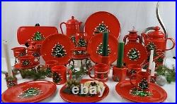 WAECHTERSBACH Christmas Tree Dinnerware Set of 29 Pieces Listed in Ad
