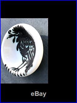 WOW Condition! RARE PICASSO Ceramic Bowl Pottery Madoura & Picasso Stamps verso