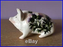 Wemyss Griselda Hill Pottery Studio Art Pig Scottish Ceramic Sculpture Figurine